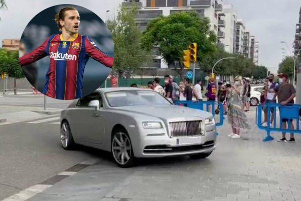 Barca fans booed Griezmann